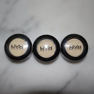NYX Nude Matte Eye Shadow 18 Kiss The Day 3 Lot